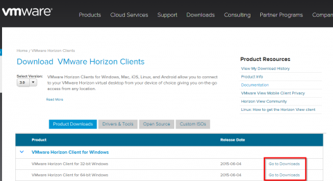 Install the VMWare Horizon Client on Windows | Library