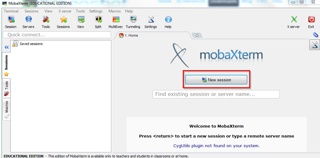 Use MobaXterm SSH Client for Web Management | Library