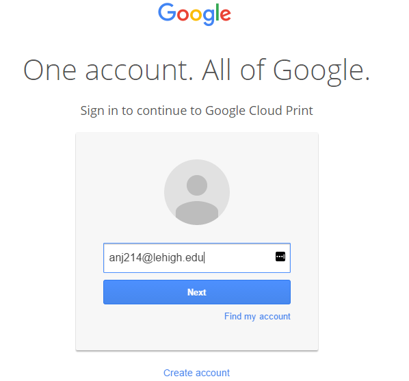 Print To Google Cloud Print From A Windows Computer