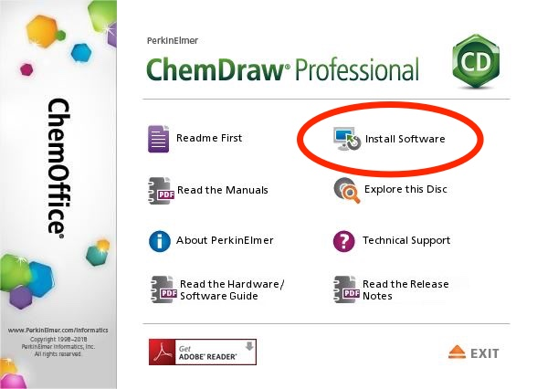 Install ChemDraw Pro on Windows Computers | Library