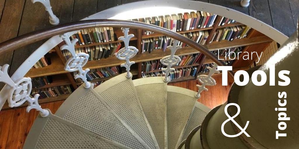Linderman Library rotunda spiral staircase