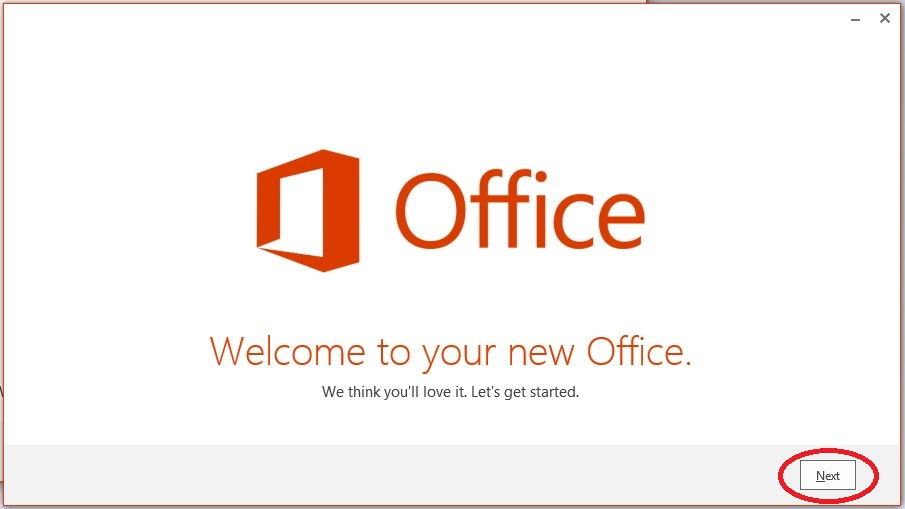 How to download and install the microsoft office 2016 public.