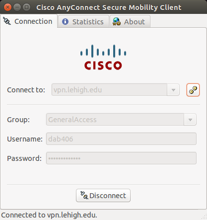 Installing the Cisco AnyConnect VPN Client Software on Linux