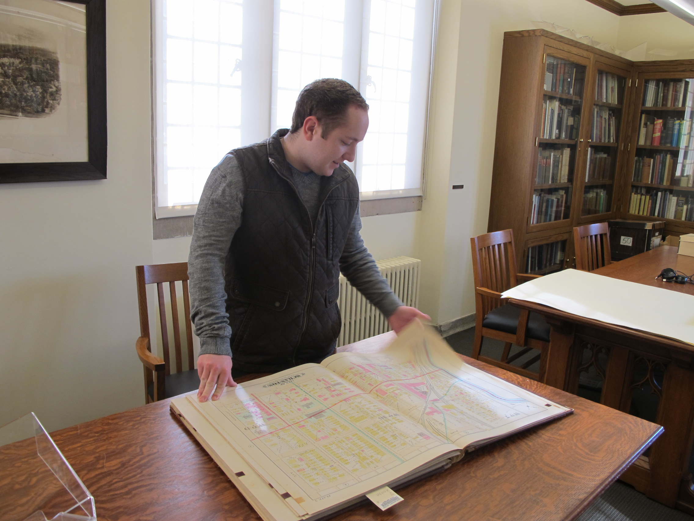Vito Scocozzo Special Collections student employee