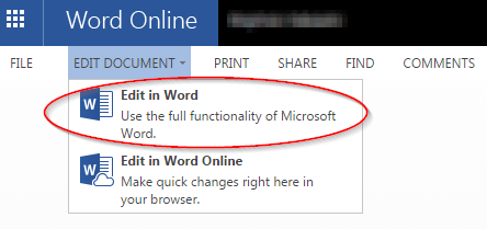Edit Office 365 Web App Document on Local Office Client | Library