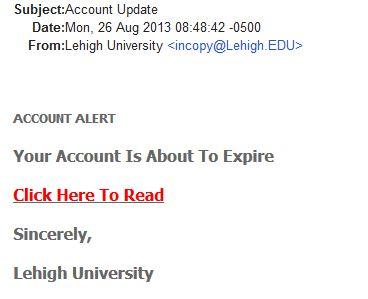 Account Expiration Fraud