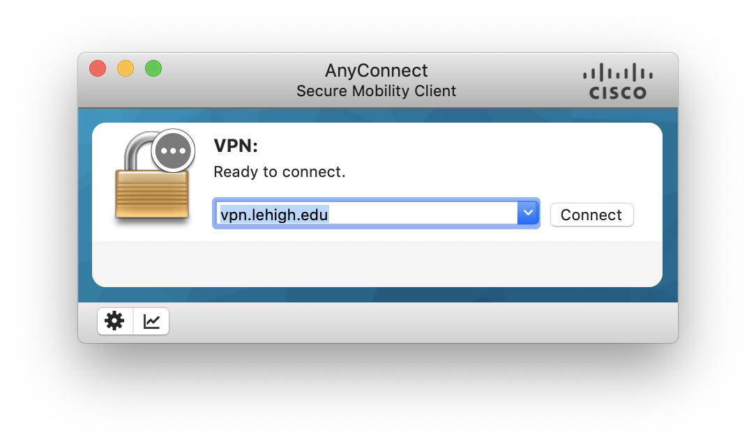 Download and Configure the Cisco AnyConnect VPN Client