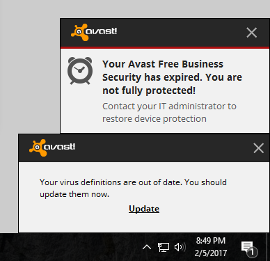 Installing Avast Antivirus Software | Library & Technology
