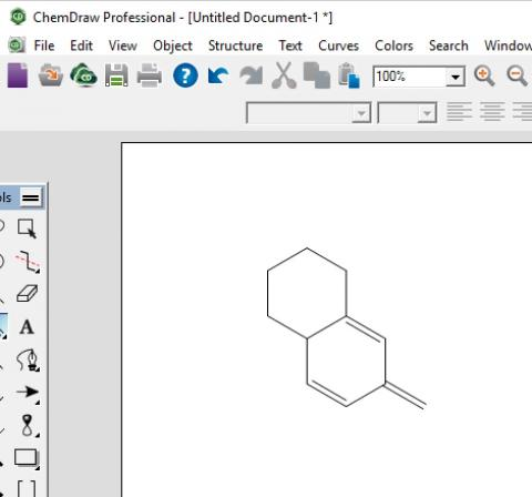 ChemDraw drawing