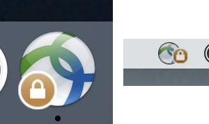 Mac AnyConnect Connected Icons