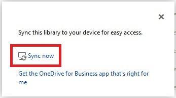 Initiate OneDrive Sync