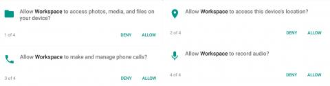 android permissions medley