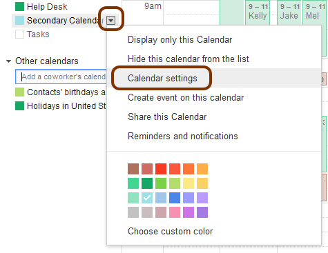 share your google calendar with people who dont use google calendar library technology services