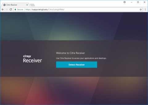 luapps site -- detect client