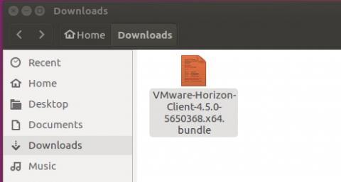 installer file in downloads folder