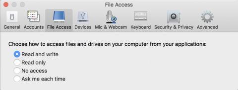 mac citrix prefs window