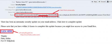 Fake Security Update