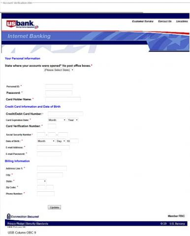 Banking Information Form
