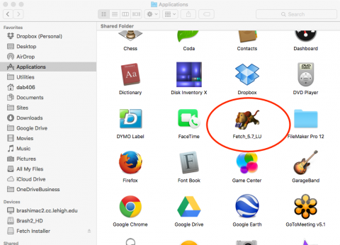 applications folder fetch icon