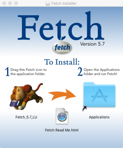 fetch installation