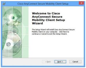 Install Wizard screen 1