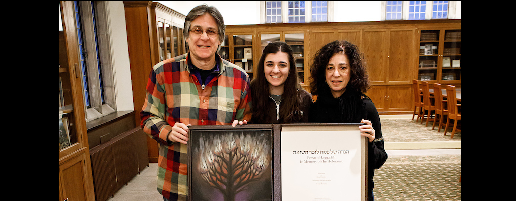 Special Collections receives gift of the Wolloch family Haggadah