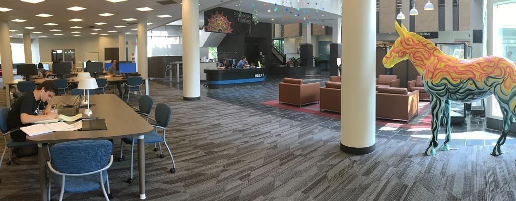 EWFM Library renovations