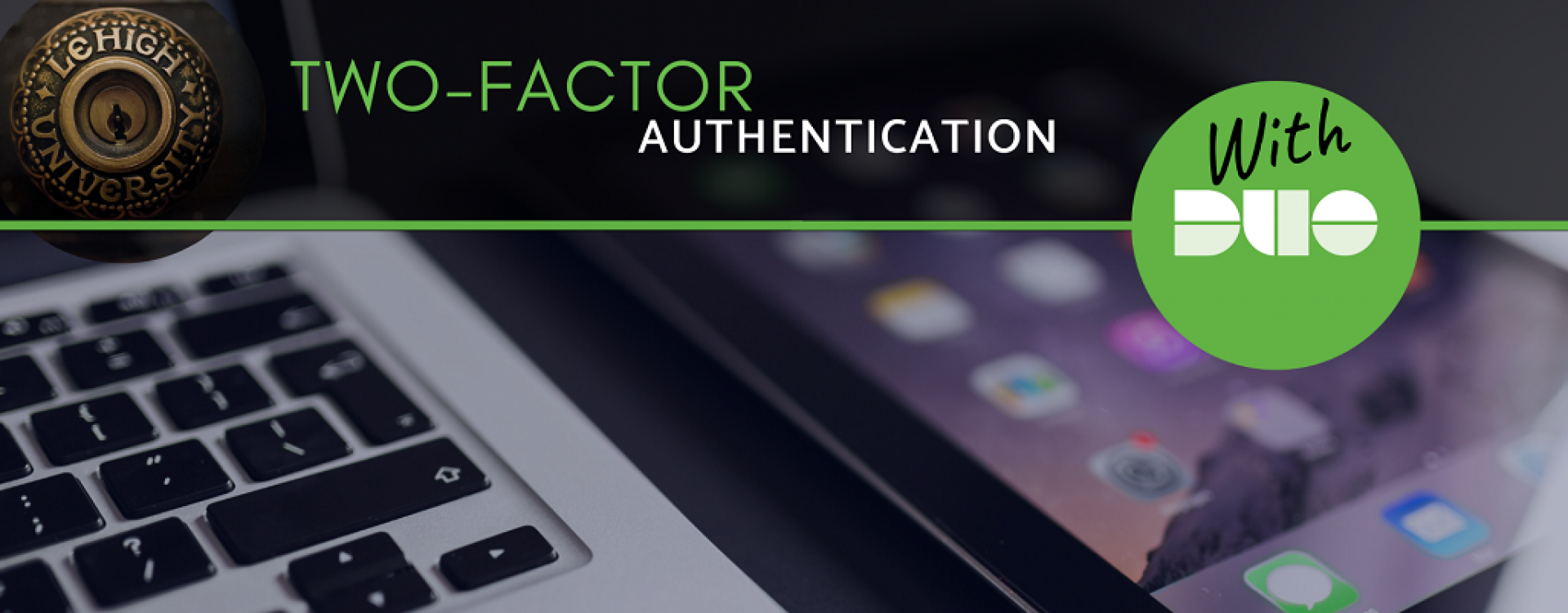 Two-factor authentication campaign poster