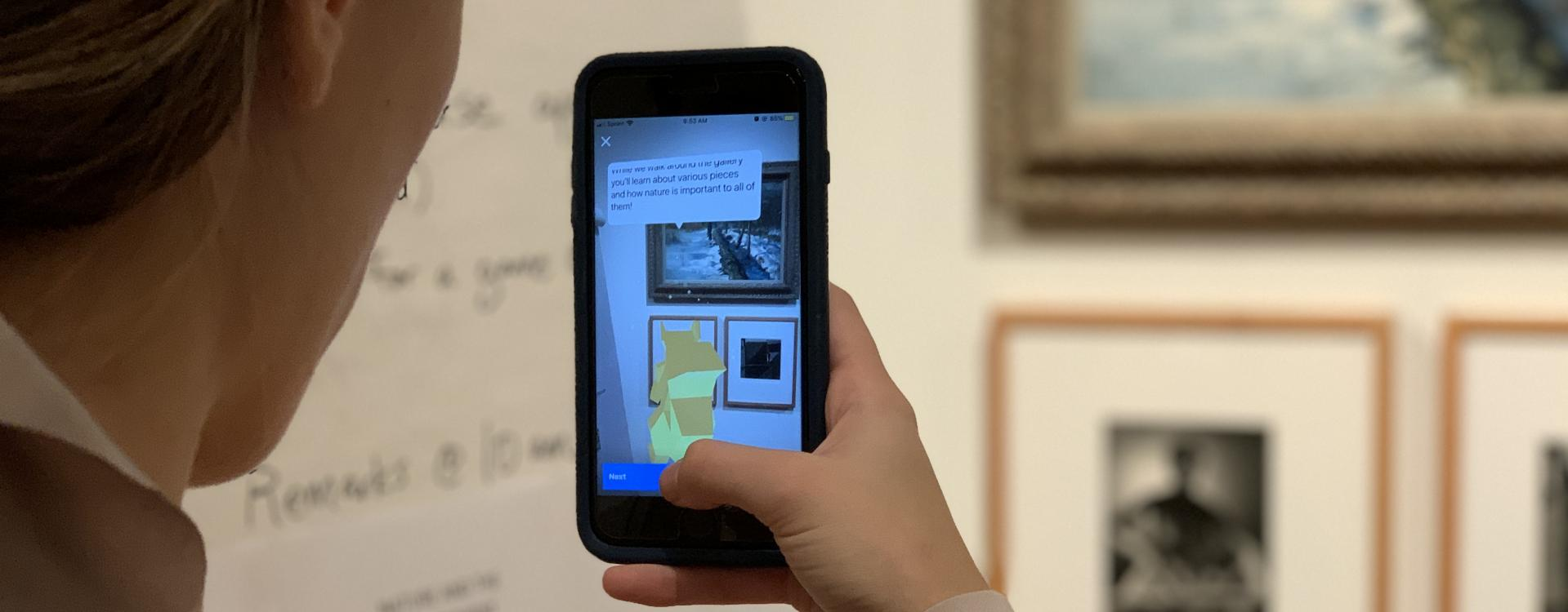 Lehigh students bring 21st century technology to ancient art