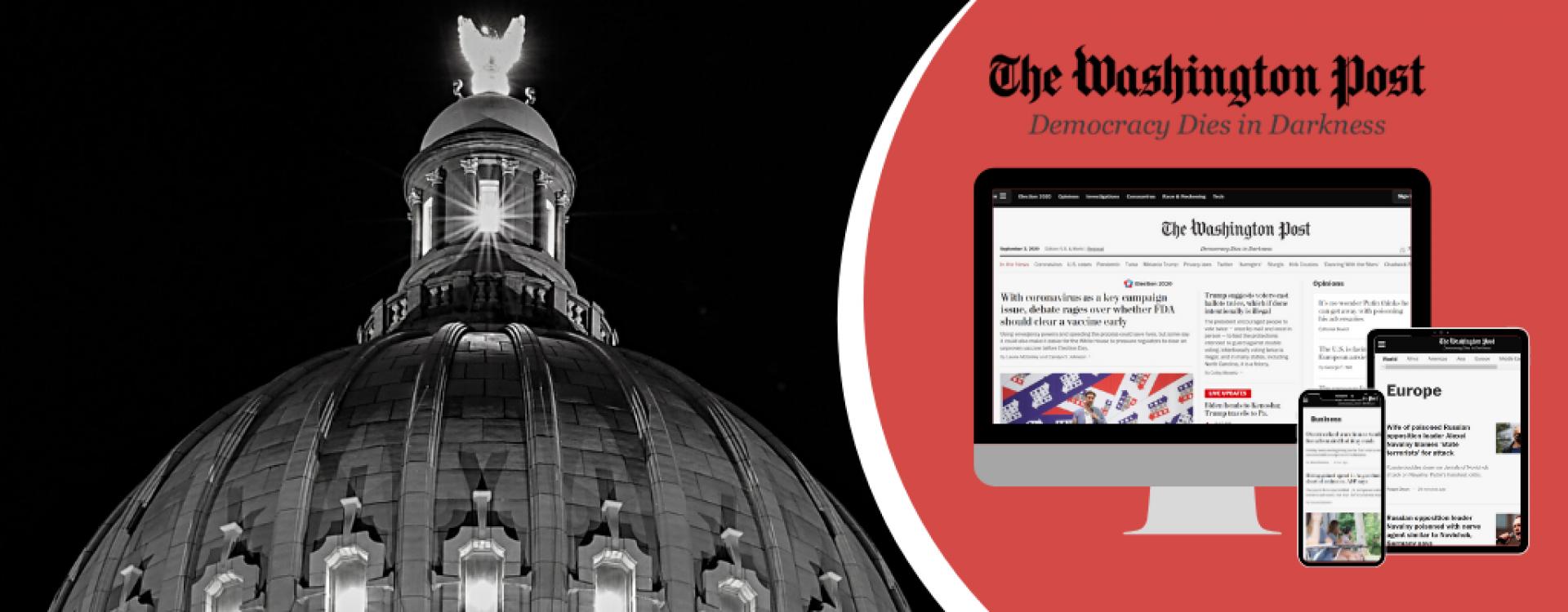Lehigh Libraries bring you The Washington Post