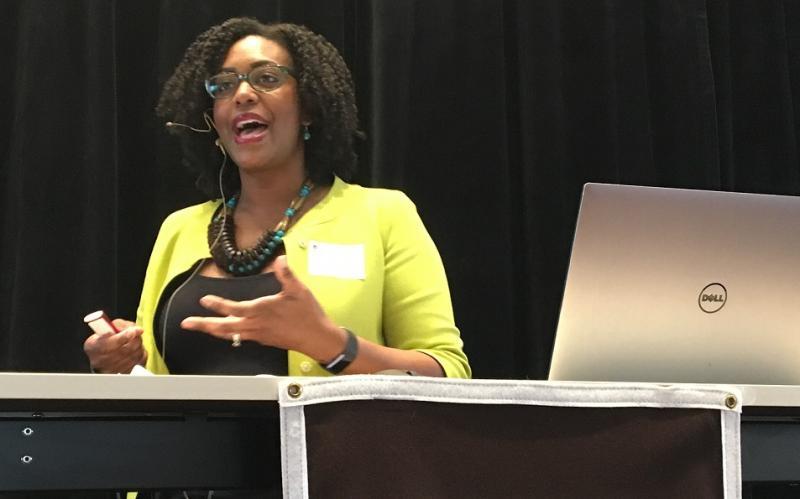 Assistant Professor ValerieTaylor named CITL 2020/21 Digital ScholarshipFacultyFellow